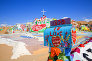 Salvation Mountain Posters - Gods Mailbox Poster by Hugh Smith
