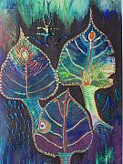 Symbols Paintings - Gods of Pandora by Vijay Sharon Govender
