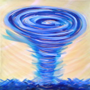 Amor Paintings - Gods Power Overcomes by Deborah Brown