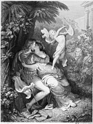 Goethe Prints - Goethe: Faust And Helen Print by Granger