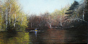 Riverscape - Early Autumn Prints - Going Away Again Print by Bill Brown