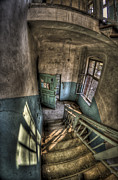 Haunted House Photo Acrylic Prints - Going down  Acrylic Print by Nathan Wright