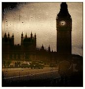 London England  Digital Art Originals - Going Home  by Andrew  Hunter