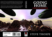Going Home Digital Art Posters - Going Home Book Cover Poster by Steve Thorpe
