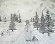 Linda Bennett Art - Going Home by Linda Bennett