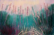Cathy Harville Pastels Acrylic Prints - Going to Seed Acrylic Print by Cathy Harville