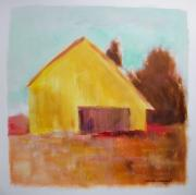 Autumn Landscape Drawings - Gold and Warm by John  Williams