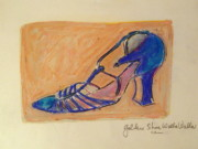 1920 Originals - Gold Dancing Shoe by Cassandra Einstein
