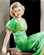 Green Dress Framed Prints - Gold Diggers Of 1933, Ginger Rogers Framed Print by Everett