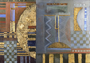Rohan Lowe - Gold-leaf Abstract