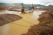 Gold Mine Photos - Gold Mine by Ria Novosti