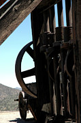 Old Mill Scenes Photos - Gold Mining Stone Crusher by LeeAnn McLaneGoetz McLaneGoetzStudioLLCcom