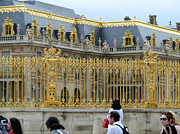 Gild Framed Prints - Gold of Versailles Framed Print by Erik Falkensteen