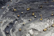 Precious Metal Art - Gold Ore Open Cast Mining by Ria Novosti