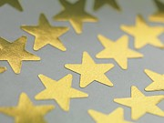 Reward Prints - Gold Star Stickers Print by Tek Image
