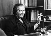 Golda Meir (1898-1978) Print by Granger