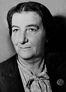 Ministers Prints - Golda Meir 1898-1978, In 1948 Print by Everett