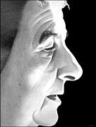 Etc. Drawings - Golda Meir by Michael Yacono