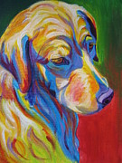 Golden Puppy Prints - Golden - Max Print by Alicia VanNoy Call