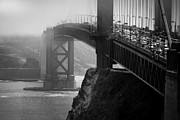 Golden Gate Framed Prints - Golden  Framed Print by Anthony Citro
