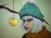 Snow Pastels - Golden Apple by Chrissa Arazny