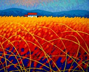 Poetry Paintings - Golden Cornfield by John  Nolan