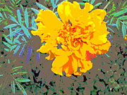 Padre Art Photos - Golden Flower by Padre Art