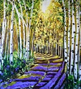 Aisha Khan - Golden Forest Path