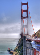 Golden Gate Framed Prints - Golden Gate Bridge Framed Print by Anthony Citro