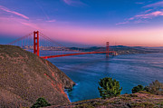 Eyal Prints - Golden Gate bridge Print by Eyal Nahmias