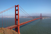 Golden Gate National Recreation Area Photos - Golden Gate Bridge From Golden Gate Recreation by Jason Todd