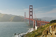 Built Photos - Golden Gate Bridge by Ian Morrison