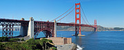 Alcatraz Prints - Golden Gate Bridge Panorama Print by Twenty Two North Photography