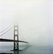 Suspension Bridge Metal Prints - Golden Gate Bridge, San Francisco, California Metal Print by Tuan Tran