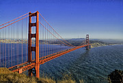 Golden Gate Bridge Print by Tom Singleton