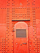 San Francisco Painting Metal Prints - Golden Gate Door Metal Print by Randall Weidner