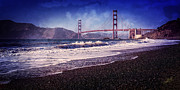 Waves Prints - Golden Gate Print by Everet Regal