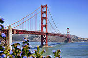 Frisco Prints - Golden Gate Print by Kelley King