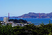 Golden Gate Photo Originals - Golden Gatescape by Dennis Jones