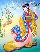 Kathern Welsh - Golden Geisha