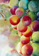 Grapevine Originals - Golden Grapes by Diane Fujimoto