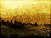 Golden Sky Prints - Golden Print by Gun Legler