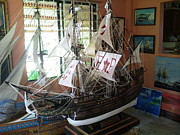 Francis Sculptures - Golden Hind  by Richard John Holden