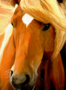 Wild Horses Digital Art - Golden by James Shepherd
