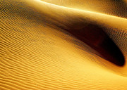 Rippled Sand Posters - Golden Sands Of Libya Poster by Joe & Clair Carnegie / Libyan Soup