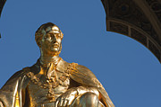 Europe Art - Golden statue of Prince Albert by Andrew  Michael