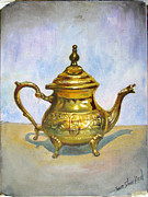 Sam Shacked - Golden Tea Kettle