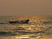 Ply Photos - Golden Waters They Ply by Sandeep Gangadharan