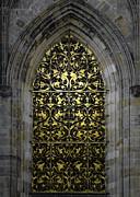 Christine Till - Golden Window - St Vitus Cathedral Prague