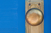 Doorknob Prints - GoldenKnob Print by Dan Holm